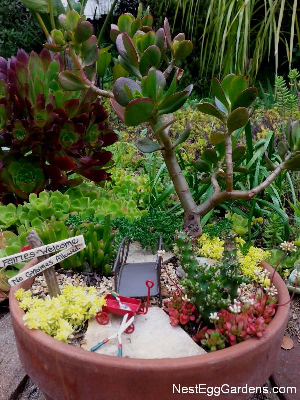 Whimsical Fairy Garden Art